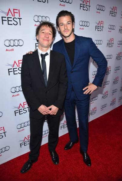 Bertrand Bonello, Gaspard Ulliel (Facebook/AFI FEST presented by Audi)