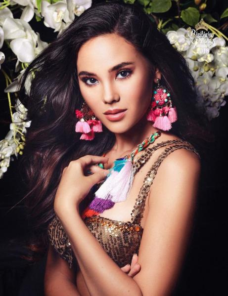 Catriona Gray [Facebook/Bb. Pilipinas (Official)]
