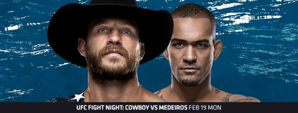 Donald Cerrone, Yancy Medeiros (Facebook/UFC)