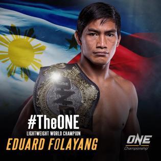 Eduard Folayang (Facebook/ONE Championship)