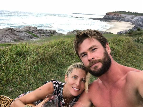 Elsa Pataky, Chris Hemsworth (Facebook/Chris Hemsworth)