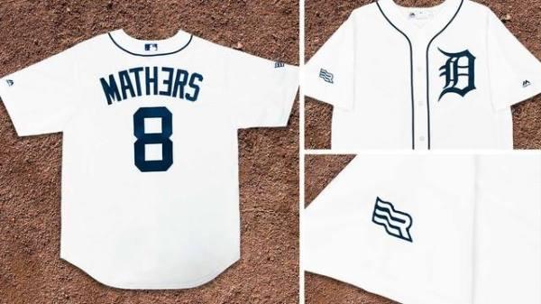 Eminem-Detroit Tigers jersey (Facebook/Eminem)