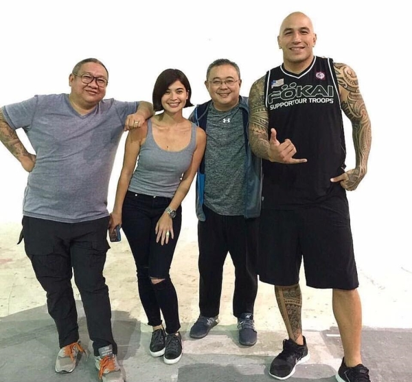 Erik Matti, Anne Curtis, Dondon Monteverde, Brandon Vera (Facebook/Reality Entertainment)