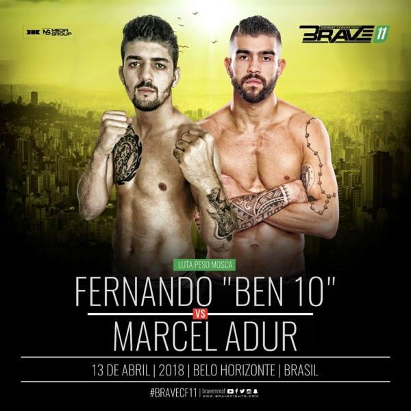 Fernando Lourenço, Marcel Adur (Facebook/Brave Combat Federation)
