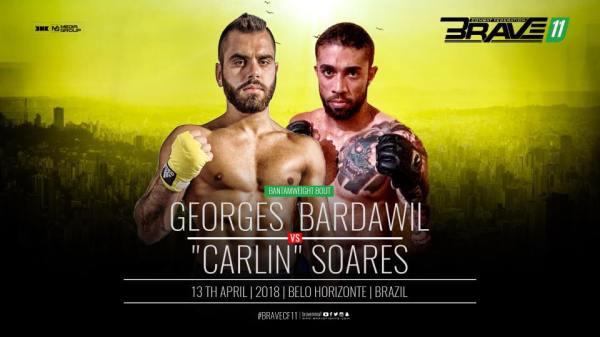Georges Bardawil, Carlos Soares  (Facebook/Brave Combat Federation)