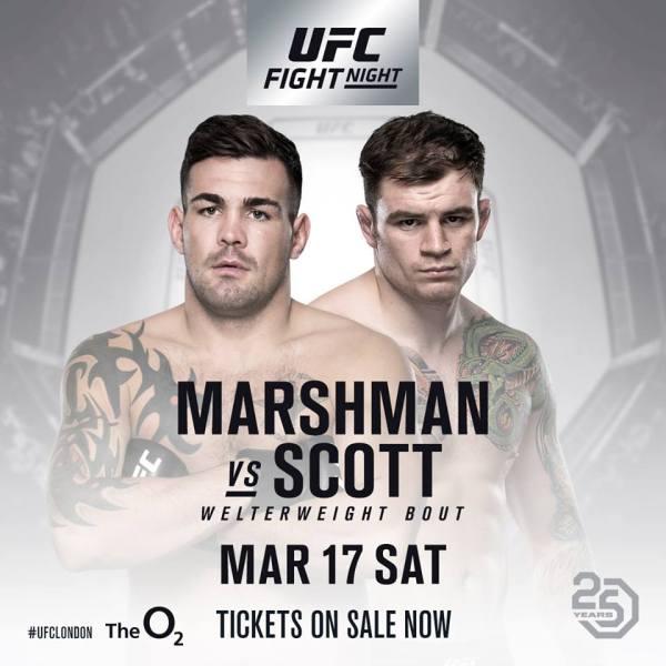 Jack Marshman, Brad Scott (Facebook/UFC)