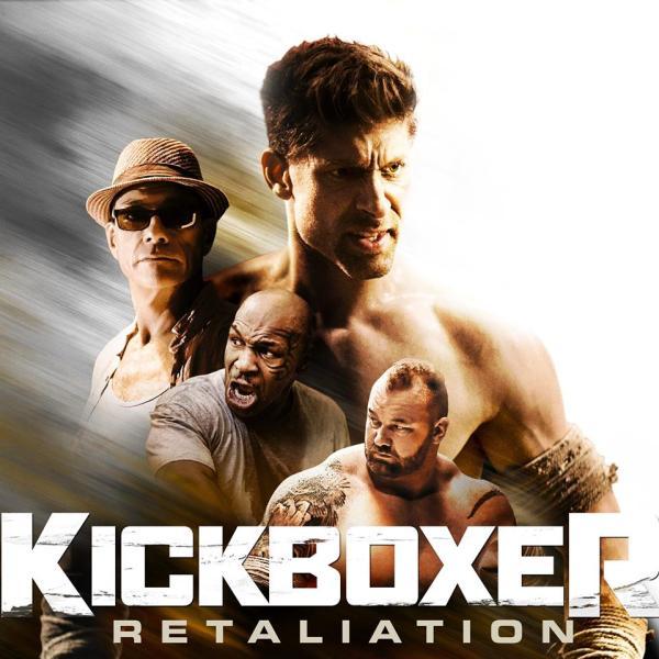 Jean-Claude Van Damme, Mike Tyson, Alain Moussi, Hafþór Júlíus Björnsson (Facebook/Kickboxer: Retaliation)