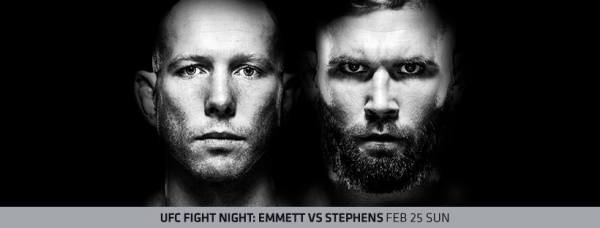 Josh Emmett, Jeremy Stephens (Facebook/UFC)