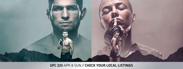 Khabib Nurmagomedov, Al Iaquinta, Rose Namajunas, Joanna Jedrzejczyk (Facebook/UFC)