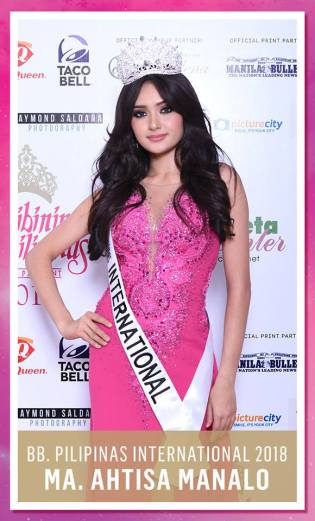 Maria Ahtisa Manalo [Facebook/Binibining Pilipinas (Official)]