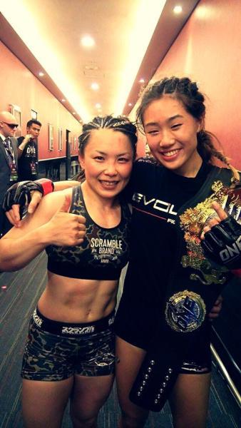 Mei Yamaguchi, Angela Lee (Facebook/Mei Yamaguchi)