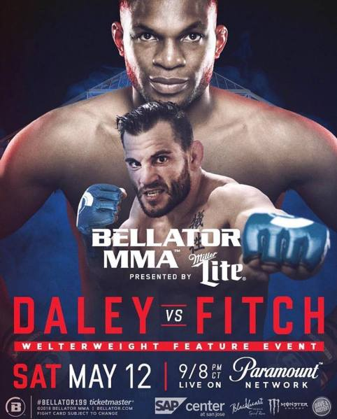 Paul Daley, Jon Fitch (Facebook/Bellator MMA)