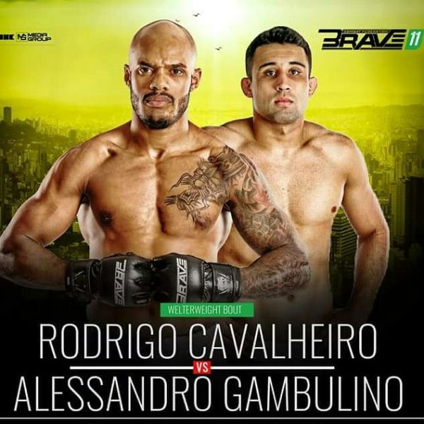 Rodrigo Cavalherio, Alessandro Gambulino (Facebook/Alessandro Gambulino)