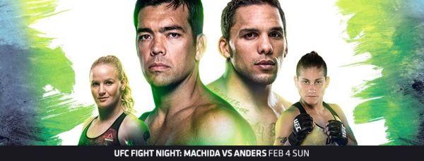Valentina Shevchenko, Lyoto Machida, Eryk Anders, Priscila Cachoeira (Facebook/UFC)