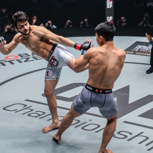Ahmed Mujtaba, Ma Jia Wen (©ONE Championship)