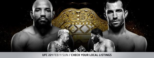 Yoel Romero, Mark Hunt, Curtis Blaydes, Luke Rockhold (Facebook/UFC)