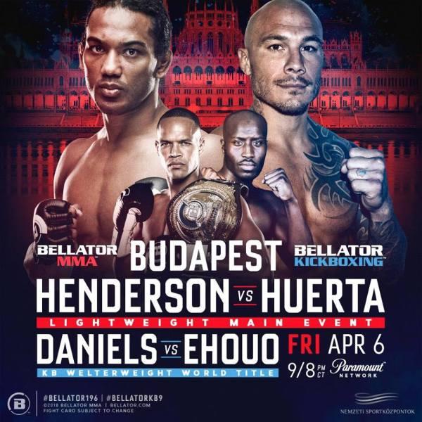 Benson Henderson, Roger Huerta (Facebook/Bellator MMA)