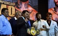 Buboy Fernandez, Michael Koncz, Manny Pacquiao, Eric Gomez, Lucas Matthysse, Mario Arano