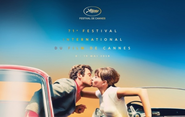 2018 official Cannes Film Festival poster © (Design : Flore Maquin, Photo : Pierrot Le Fou) Georges Pierre