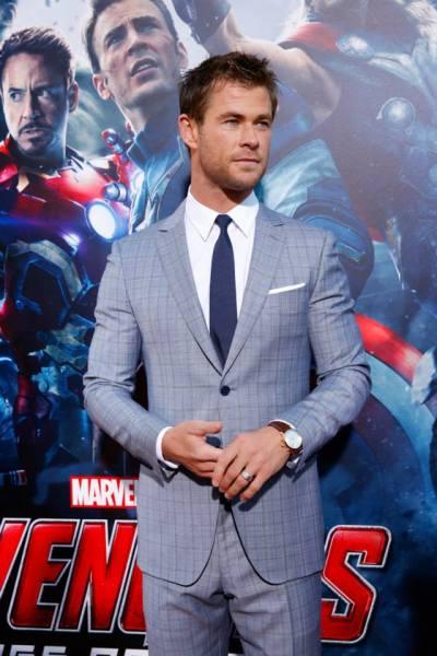 Chris Hemsworth (Facebook/The Avengers)