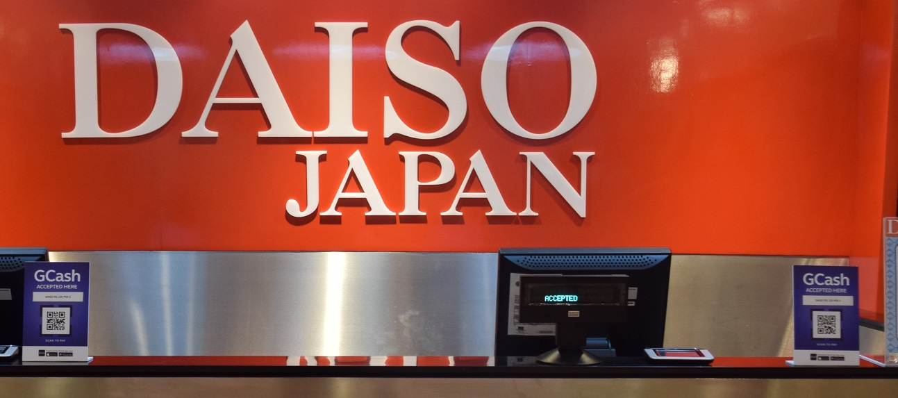 GCash Scan to Pay now accepted at Daiso Japan outlets in the