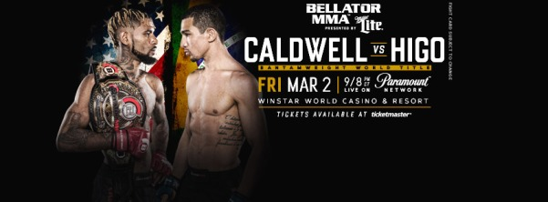 Darrion Caldwell, Leandro Higo (Facebook/Bellator MMA)