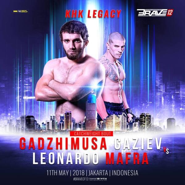 Gadzhimusa Gaziev, Leonardo Mafra (Facebook/Brave Combat Federation)