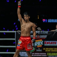 Team Lakay's Honorio Banario vs Bangkok Fight Lab's Shannon Wiratchai at 'ONE: King of the Jungle' in Singapore