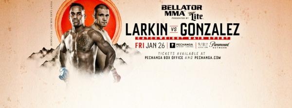 Lorenz Larkin, Fernando Gonzalez (Facebook/Bellator MMA)