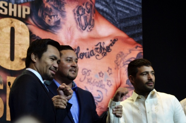Manny Pacquiao, Eric Gomez, Lucas Matthysse
