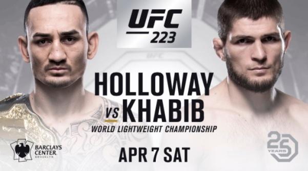 Max Holloway, Khabib Nurmagomedov (Twitter/UFC)