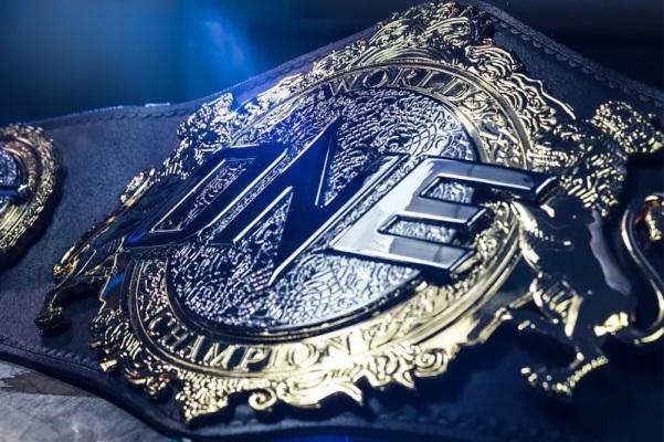 ONE World Championship belt