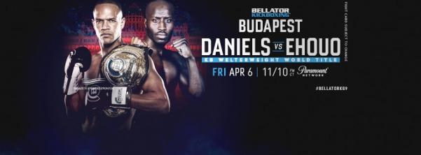 Raymond Daniels, Djibril Ehouo (Facebook/Bellator Kickboxing)
