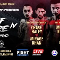 'Roar of Singapore IV: The Night of Champions IV' results: Muhamad Ridhwan vs Jeson Umbal