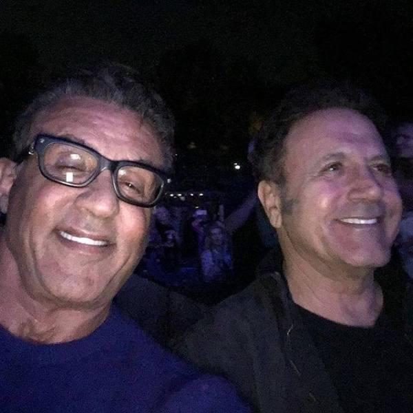 Sylvester Stallone, Frank Stallone (Facebook/Sylvester Stallone)
