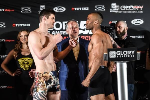 Zack Wells, Simon Marcus (Facebook/GLORY Kickboxing)