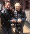Jet Li (right) [Weibo]