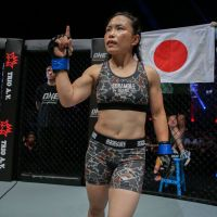 Mei Yamaguchi vs Jomary Torres at 'ONE: Destiny of Champions' in Kuala Lumpur, Malaysia