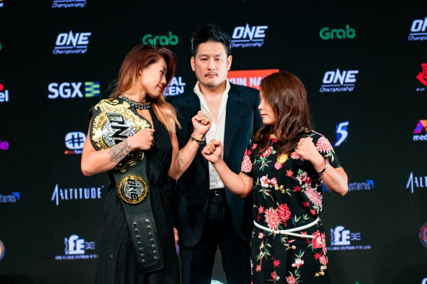 Angela Lee, Chatri Sityodtong, Mei Yamaguchi