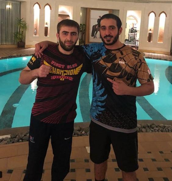 Shamil Gimbatov, Khalid bin Hamad Al Khalifa (Instagram/Khalid bin Hamad Al Khalifa)