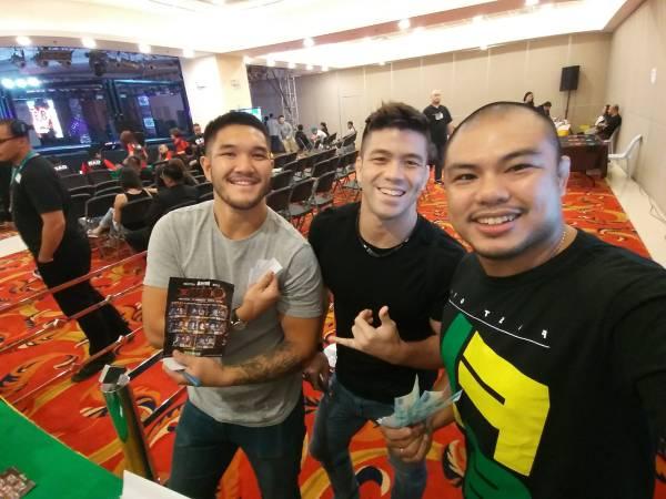 Ray Quintana, Mark Striegl, Jerry Legaspi