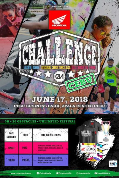 ColorManila's CM Challenge Run, CM Paradise Run