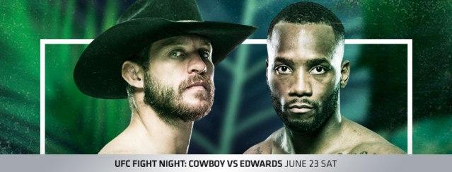 Donald Cerrone, Leon Edwards (Facebook/UFC)