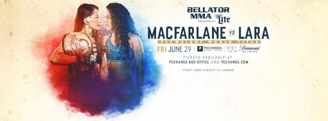 Ilima-Lei Macfarlane, Alejandra Lara (Facebook/Bellator MMA)