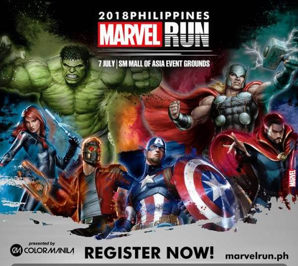 2018 Philippines Marvel Run