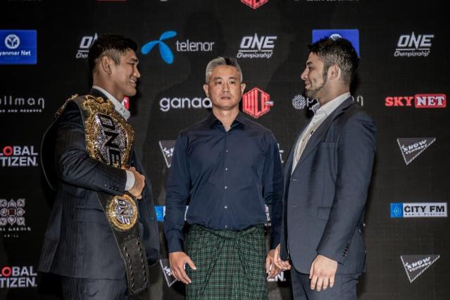 Aung La N Sang, Jack Lim, Ken Hasegawa