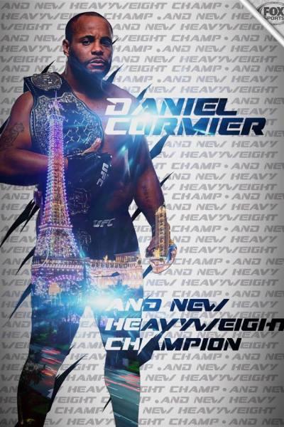 Daniel Cormier (Facebook/UFC on Fox)