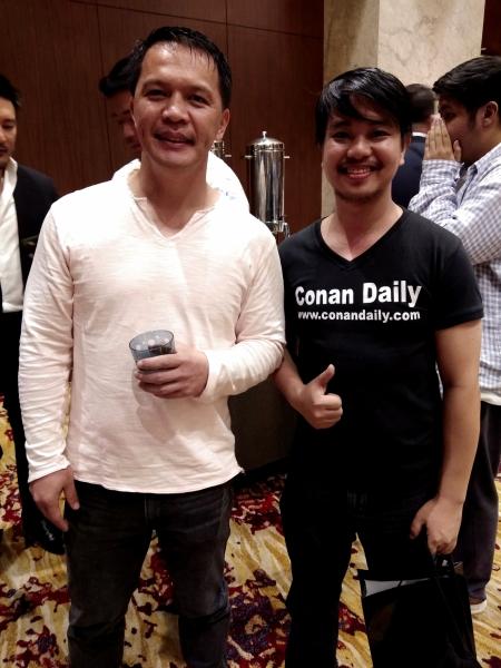 Mark Sangiao, Conan Altatis