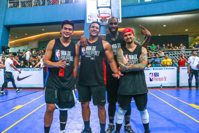 Marco Alcaraz, Eric Tai, Sudan Daniel, Billy Crawford