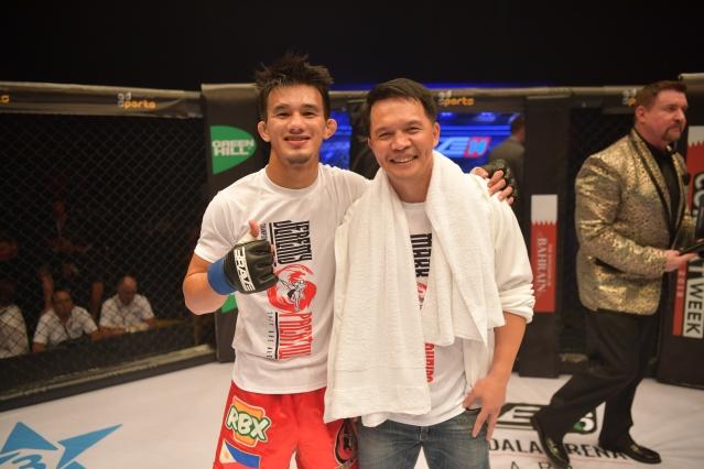 Jeremy Pacatiw, Mark Sangiao